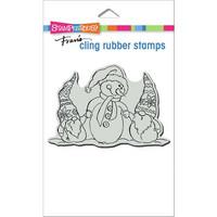 Stampendous - Snome Buddies, Leima