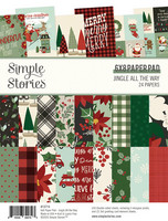 Simple Stories - Jingle All The Way, Paperikko 6''x8'', 24sivua