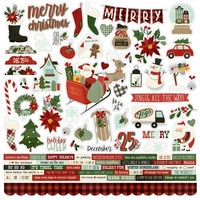 Simple Stories - Jingle All the Way Cardstock Stickers 12