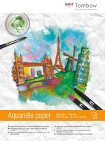 Tombow - Watercolour Pad, 24 x 32cm, 300g, 15 arkkia