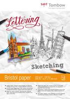 Tombow - Drawing Pad Bristol, A4, 250g, 25 arkkia