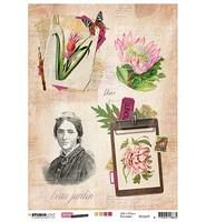 Studio Light - Just Lou Botanical, Rice Paper Nr.09