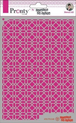 Pronty Crafts - Pattern Background 4, A5, Sapluuna