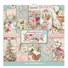 Stamperia - Pink Christmas, Paper Pack 12