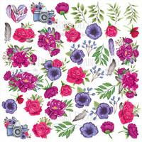 Fabrika Decoru - Mind Flowers, Leikekuva-arkki 12