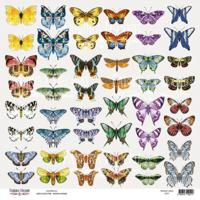 Fabrika Decoru - Butterflies 7, Leikekuva-arkki 12