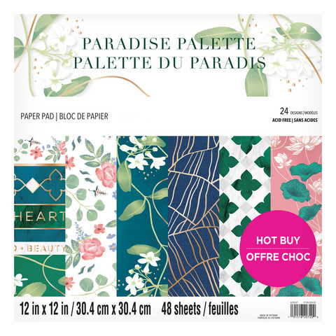 Craft Smith - Paradise Palette 12
