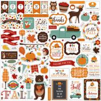 Echo Park - Happy Fall Element Sticker 12