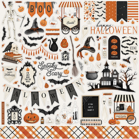 Carta Bella - Halloween Market, Element Sticker 12