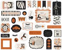 Carta Bella - Halloween Market Ephemera, Leikekuvia, 33 kpl