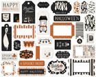 Carta Bella - Halloween Market Frames & Tags Ephemera, Leikekuvia, 33 kpl