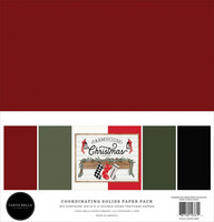 Carta Bella - Farmhouse Christmas, Solids Kit 12