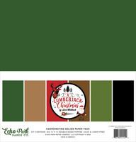 Echo Park - A Lumberjack Christmas, Solids Kit 12