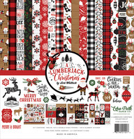 Echo Park - A Lumberjack Christmas, Collection Kit 12