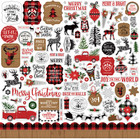 Echo Park - A Lumberjack Christmas Element Sticker 12
