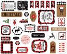 Echo Park - A Lumberjack Christmas Ephemera, Leikekuvia, 33 kpl