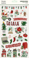 Simple Stories - Jingle All The Way Chipboard Stickers 6