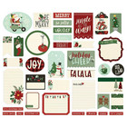 Simple Stories - Jingle All The Way Journal Bits & Pieces Die-Cuts, 39 osaa
