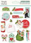 Simple Stories - Simple Vintage North Pole, Layered Stickers