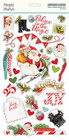 Simple Stories - Simple Vintage North Pole Chipboard Stickers 6