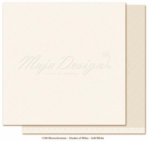 Maja Design - Monochromes - Shades of Miles - Soft White
