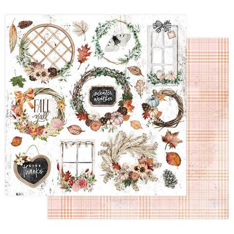 Prima Marketing - Pumpkin & Spice, Sweater Weather, 12