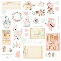 Prima Marketing - Sugar Cookie By Frank Garcia, Cardstock Ephemera, 32 osaa, Foiled Accents