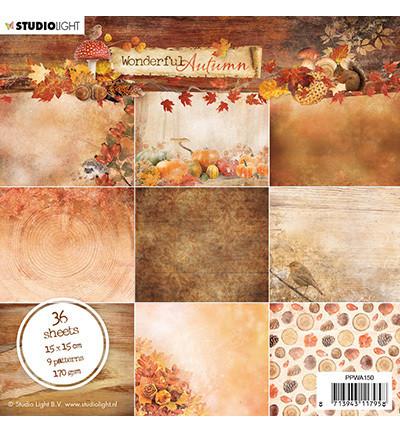 Studio Light - Wonderful Autumn, nr.150, Paperikko, 6