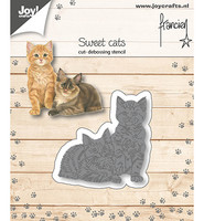 Joy Crafts - Two Cats, Stanssi