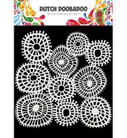Dutch Doobadoo - Linnen Circles 6