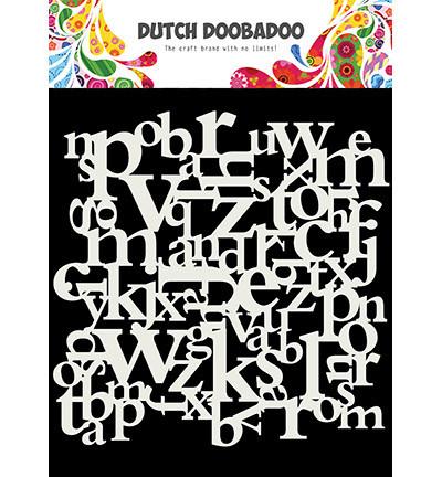 Dutch Doobadoo - Letters 6