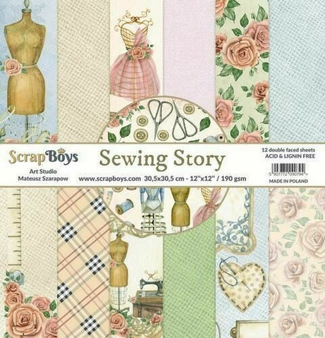 ScrapBoys - Sewing Love, 12