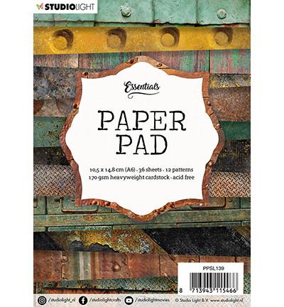 Studio Light - Paper Pad nr.139, A6, Paperikko