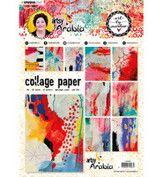 Studio Light - Art By Marlene Artsy Arabia, Collage Paper Nr.07, A4, 20 arkkia