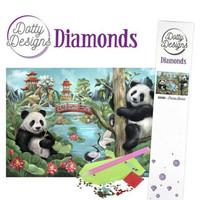 Dotty Designs - Panda Bears (K)(P), Timanttimaalaus, 30x42cm