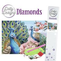 Dotty Designs - Peacock (K)(P), Timanttimaalaus, 30x42cm