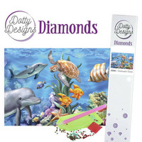 Dotty Designs - Underwater World (K)(P), Timanttimaalaus, 30x42cm