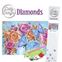 Dotty Designs - Butterfly (K)(P), Timanttimaalaus, 30x42cm