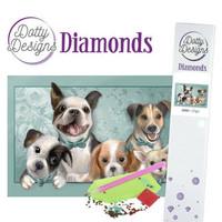 Dotty Designs - Dogs (K)(P), Timanttimaalaus, 30x42cm