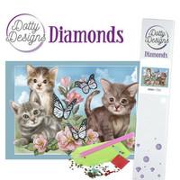 Dotty Designs - Cats (K)(P), Timanttimaalaus, 30x42cm
