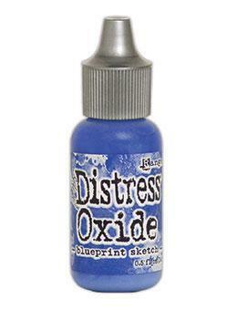 Tim Holtz - Distress Oxide Täyttöpullo, Blueprint Sketch