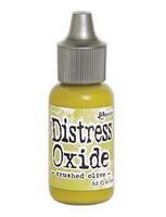 Tim Holtz - Distress Oxide Täyttöpullo, Crushed Olive