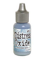 Tim Holtz - Distress Oxide Täyttöpullo, Stormy Sky