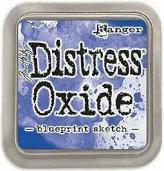 Tim Holtz - Distress Oxide Ink, Leimamustetyyny, Blueprint Sketch