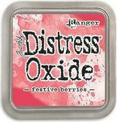 Tim Holtz - Distress Oxide Ink, Leimamustetyyny, Festive Berries