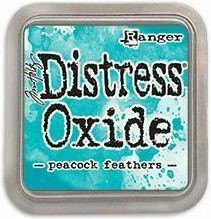 Tim Holtz - Distress Oxide Ink, Leimamustetyyny, Peacock Feathers
