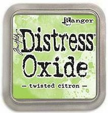 Tim Holtz - Distress Oxide Ink, Leimamustetyyny, Twisted Citron