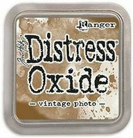 Tim Holtz - Distress Oxide Ink, Leimamustetyyny, Vintage Photo