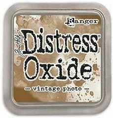 Tim Holtz - Distress Oxide Ink, Leimamustetyyny, Vintage Photo