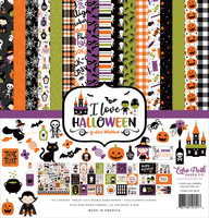 Echo Park -  I Love Halloween Collection Kit 12